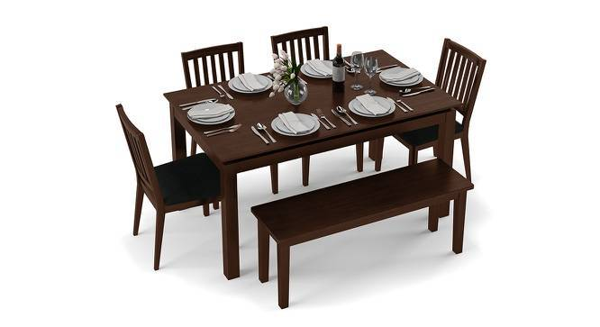 Diner 6 Seater Dining Table Set With Bench Urban Ladder