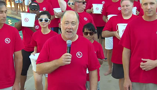 UL takes the ALS Ice Bucket Challenge