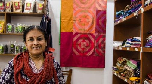 Dimple Chatterjee, créatrice de Kriti