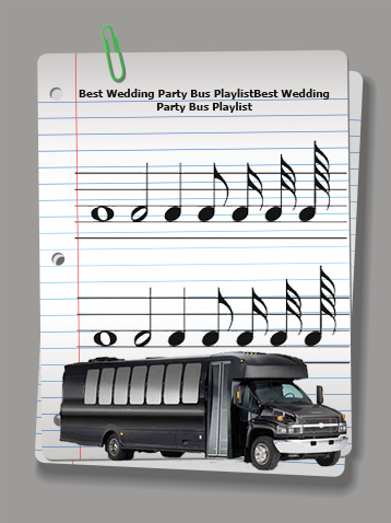 How to Create the Best Wedding Party Bus Playlist