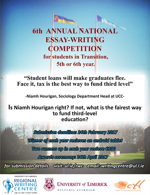 National Secondary School Essay Competition 2016/17 University of