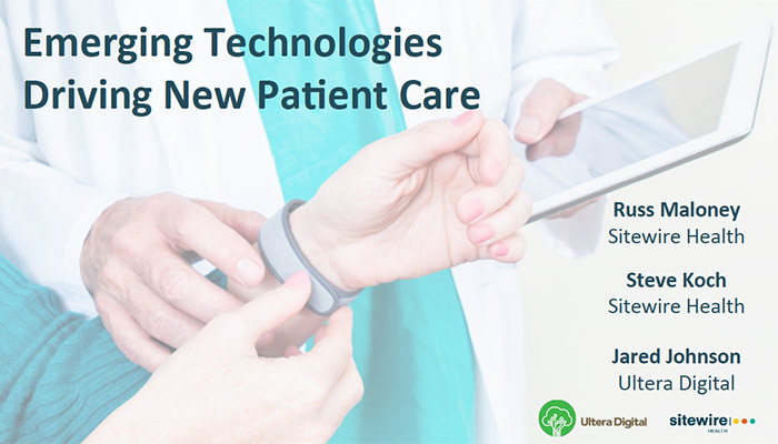Embracing wearables, IoT and empowered patients