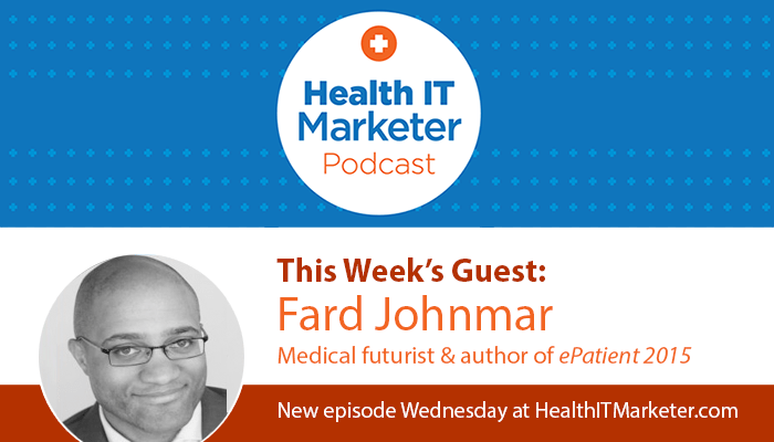 Medical futurist Fard Johnmar
