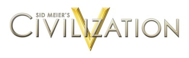 CIVILIZATION V LOGO ON WHITE
