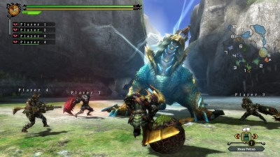 monster hunter 3 ultimate: Zinogre
