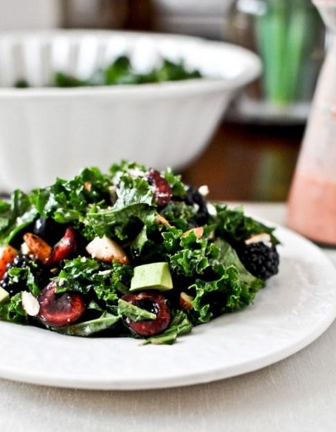 010 triple berry kale salad