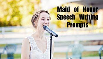 Writing a bridesmaid speech