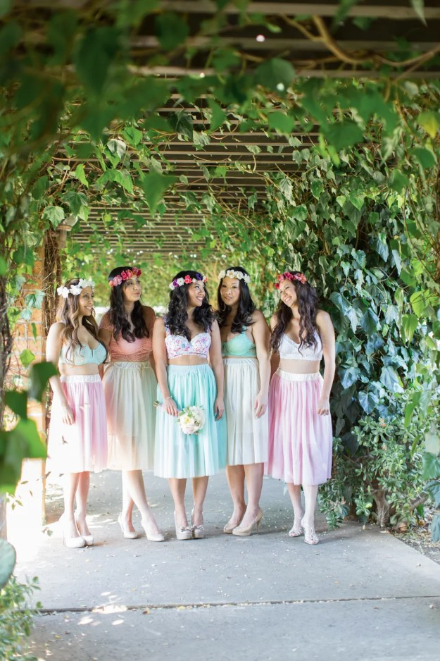A Pastel Garden Boudoir Bridal Shower | Ultimate Bridesmaid | Betsy Blue Photography