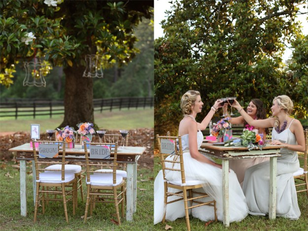 A Chic Neon Kentucky Derby Party Styled Shoot | Ultimate Bridesmaid | Two Chics Photography