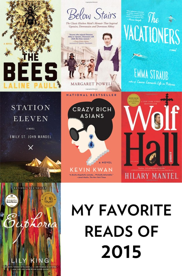 My Favorite Reads of 2015