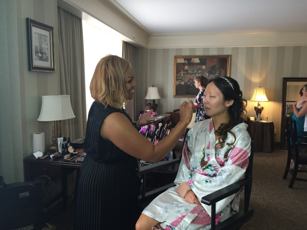 O.Henry Hotel Wedding | Ultimate Bridesmaid | Bride getting ready at the O.Henry hotel