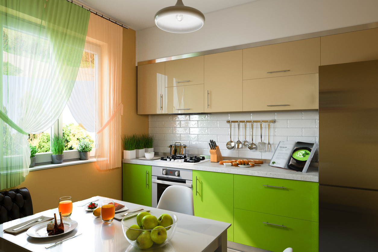 Donde Colocar Tv En Cocina Bring Color To Your Kitchen For A Fresh And New Look