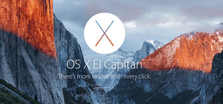 Mac OS X El Capitan Review