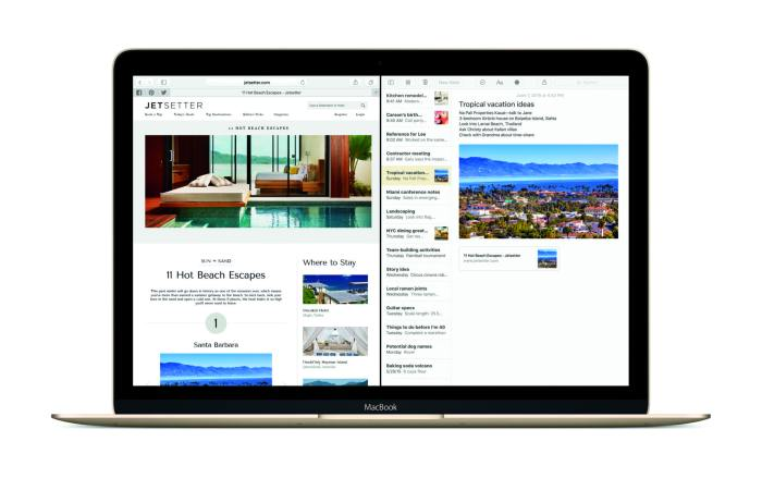 Natural language search in Spotlight. Photo by Apple.