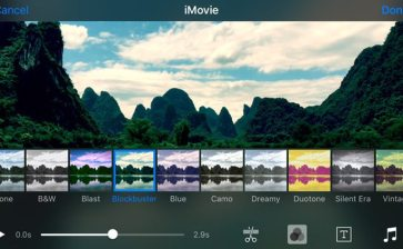 iMovie for iOS Can Support 4k Videos, Use 3D Touch