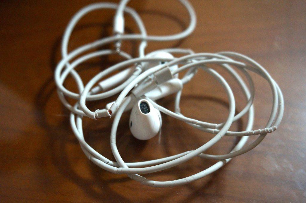 iphone 7 - earphones