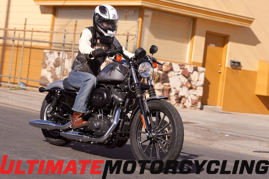2015 Harley-Davidson Sportster Iron 883 Review