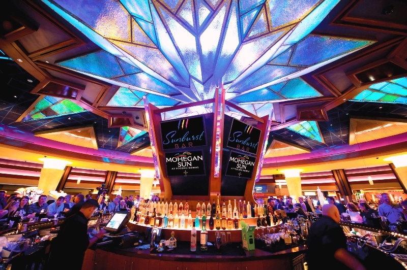 Bar Top Tables Casino Trips | Ultimate Party Bus Of New England