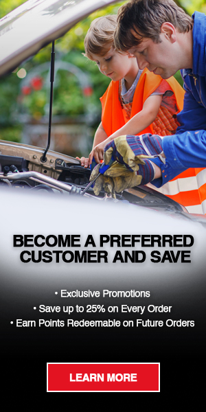 Become an AMSOIL Preferred Customer to save up to 25 percent, earn points, get exclusive promotions, and win free gear