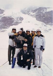 ジャスパー氷河2
