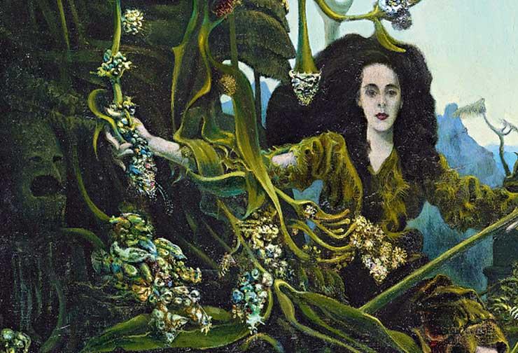 Leonora Carrington Portrait by Max Ernst