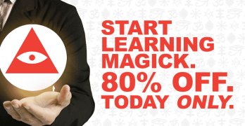 Start Learning Magick—80% Off, Today Only!