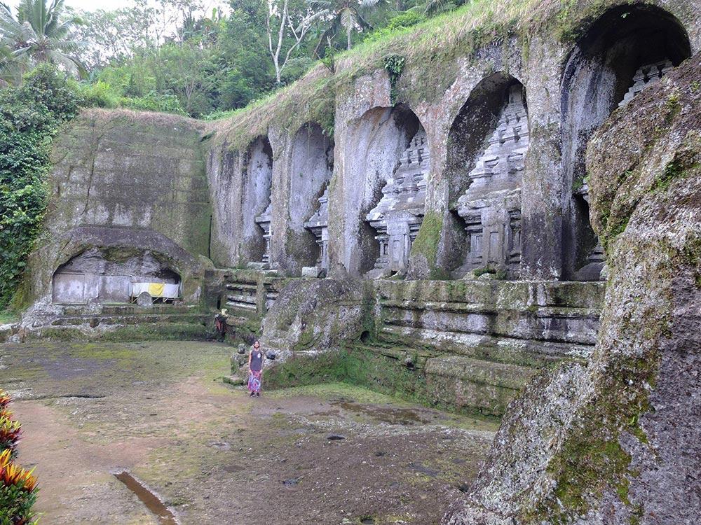 Megaliths Gunung Kawi Temple, Bali, Indonesia