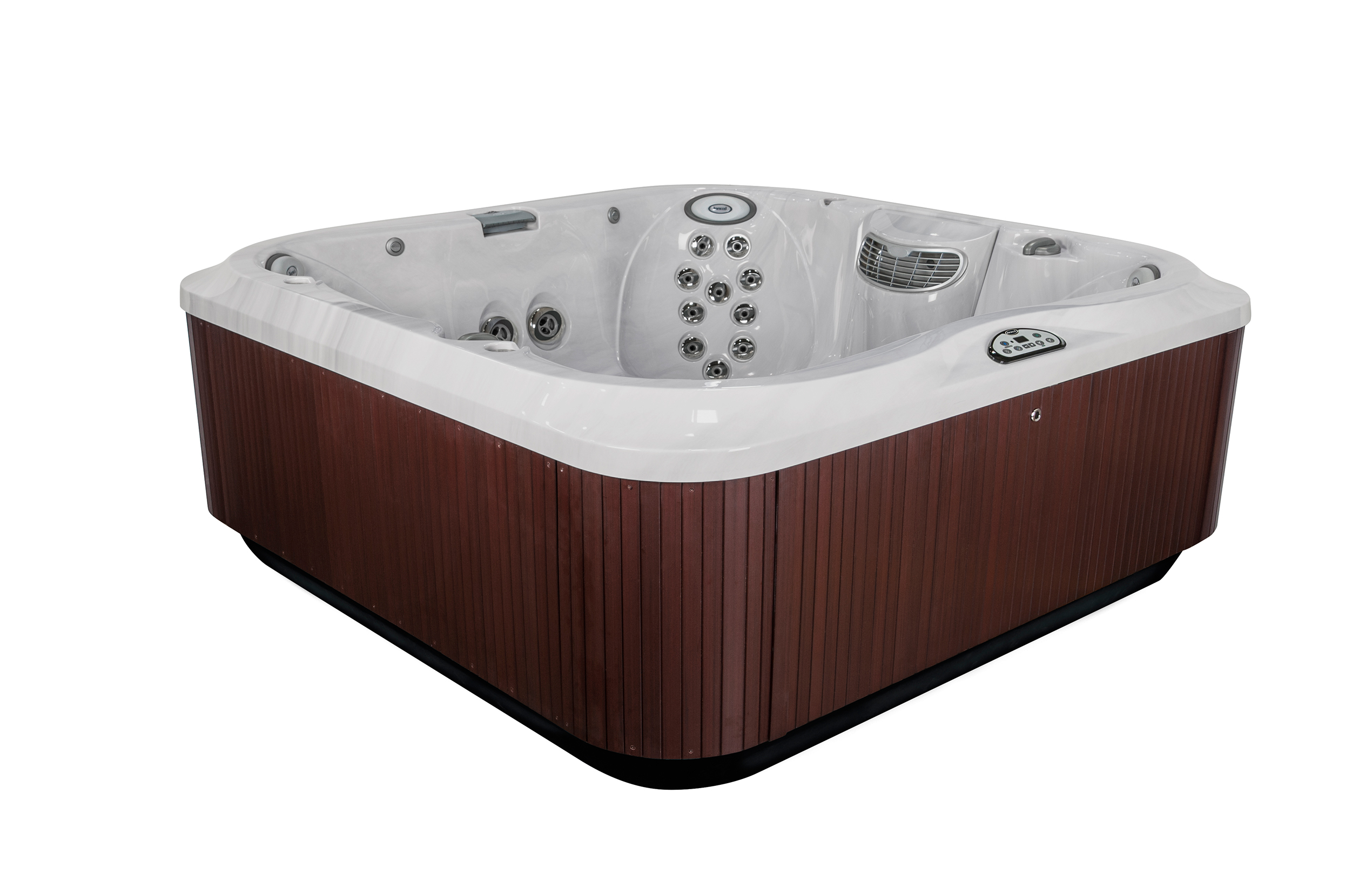 Jacuzzi Brand Pool Pump Jacuzzi J 385 7 Person Hot Tub Ultra Modern Pool And Patio