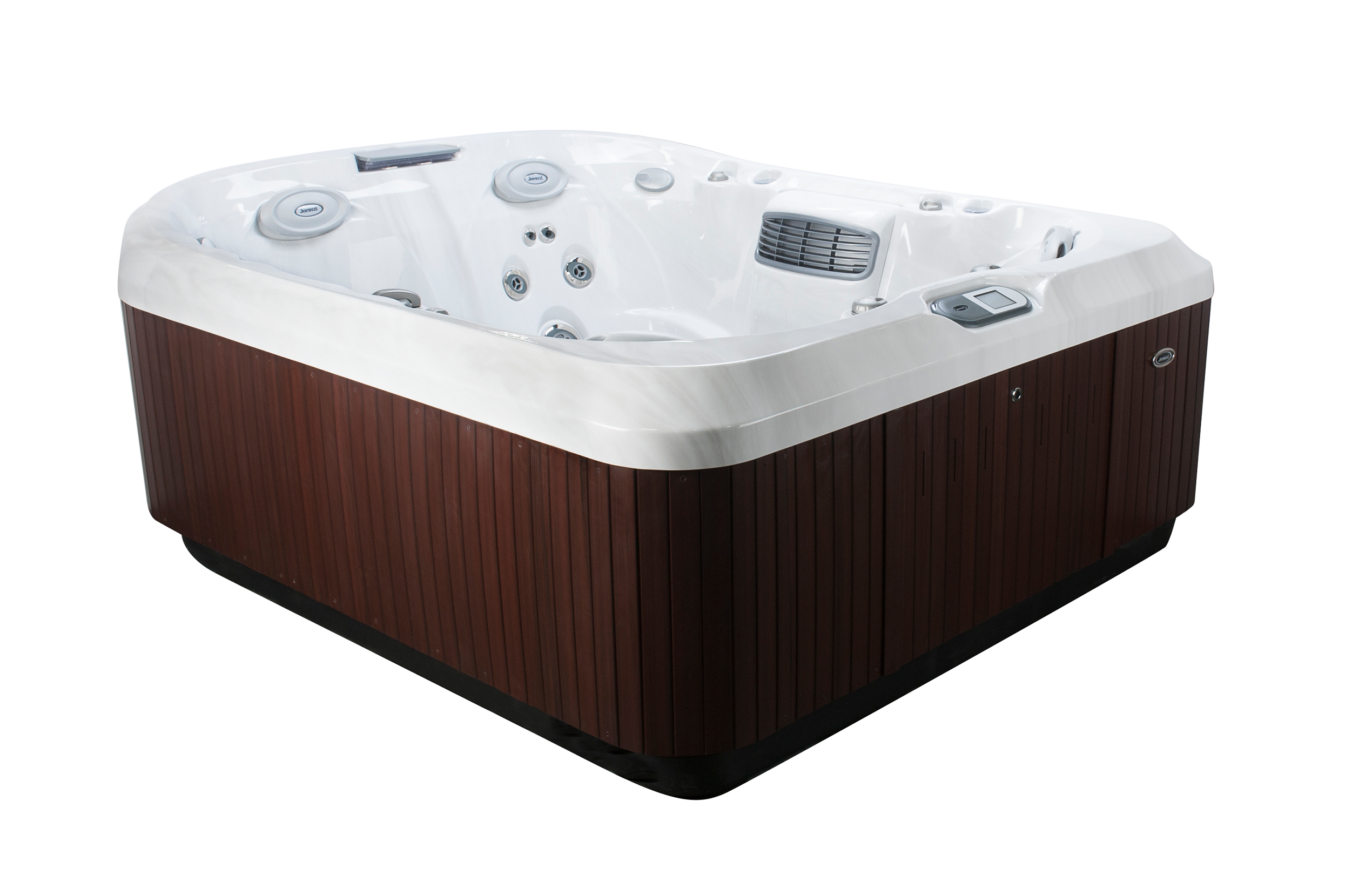 Jacuzzi Brand Pool Pump Jacuzzi J 425 5 Person Hot Tub Ultra Modern Pool And Patio