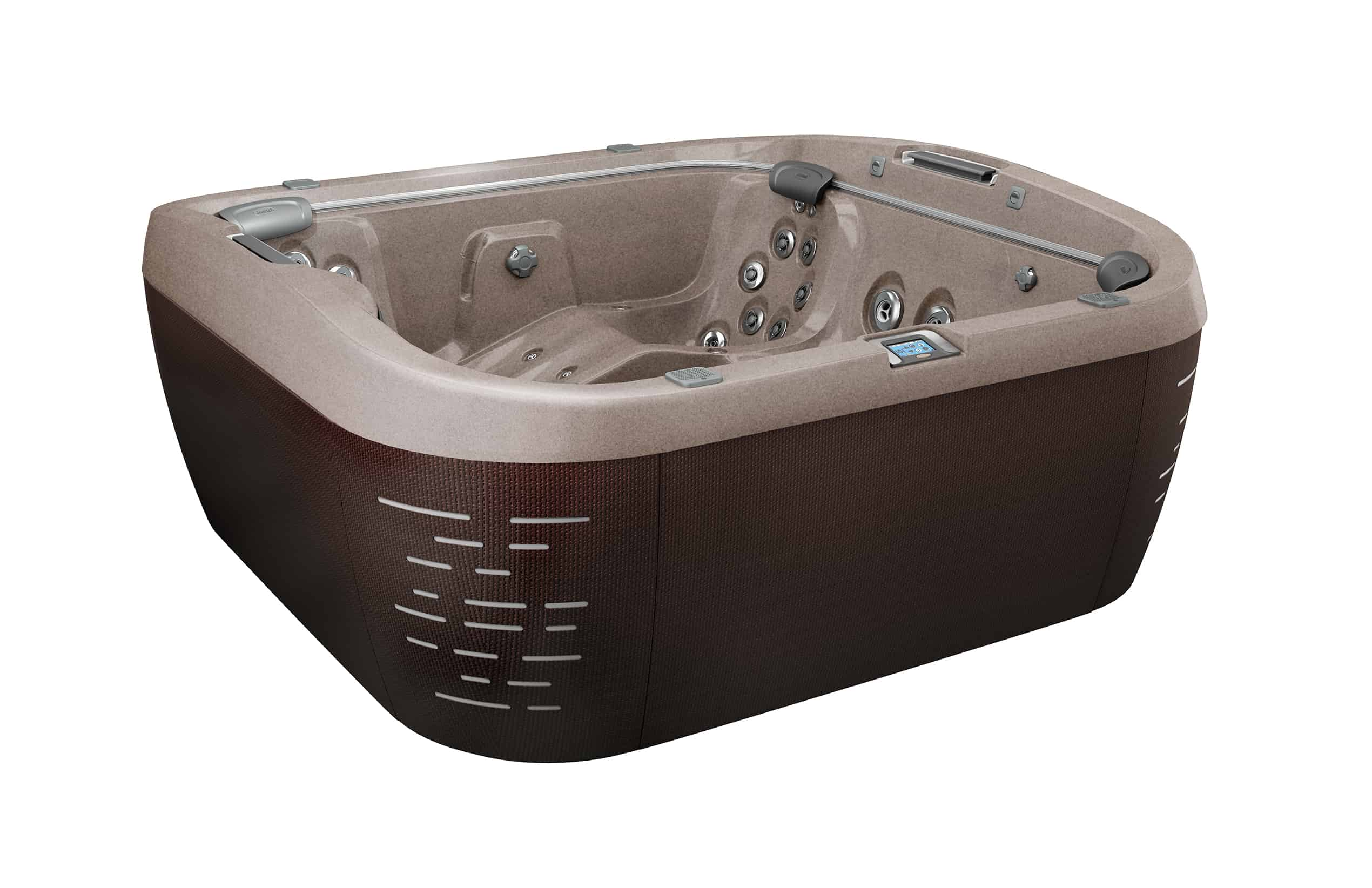 Jacuzzi Brand Pool Pump J 575 5 6 Person Hot Tub Ultra Modern Pool And Patio