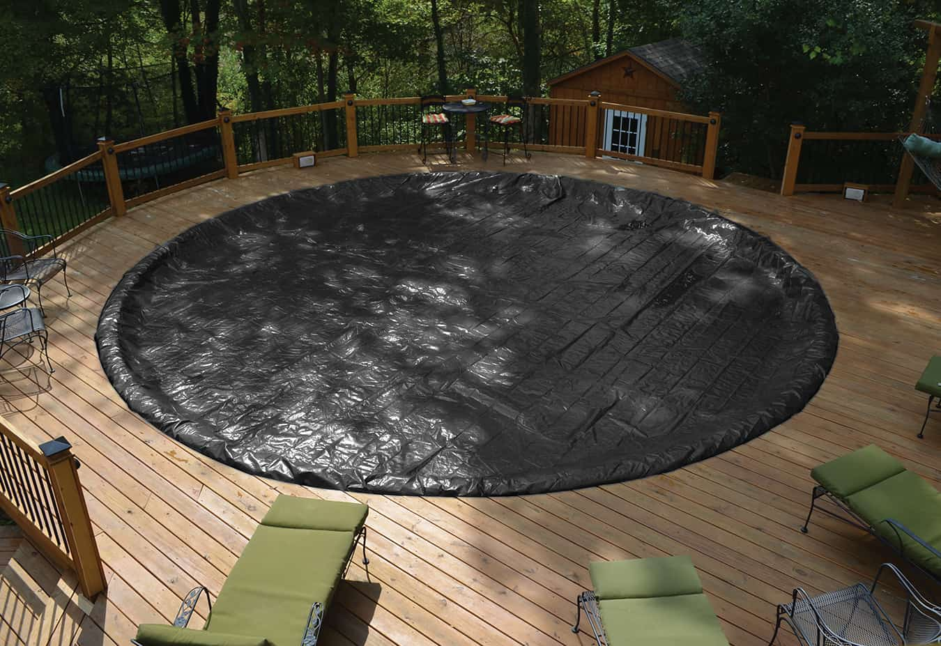 Above Ground Pool Winter Cover Winter Pool Cover Gli Classic Guard Above Ground Ultra