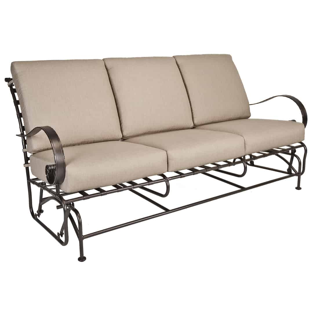 Sofa Cushions Are Flat Classico Sofa Glider - Ultra Modern Pool & Patio