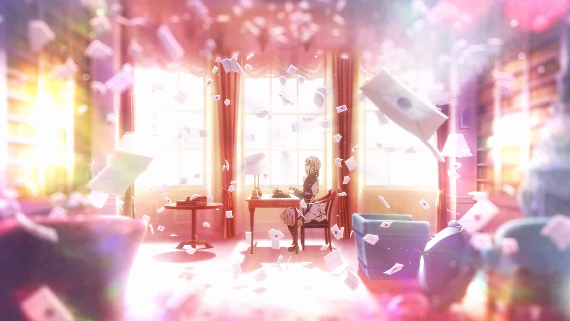 Pretty Quotes Wallpapers Violet Evergarden Episode 1 Review No Spoilers Ultramunch