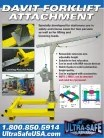 Davit Forklift Attachment - Fall Protection Equipment