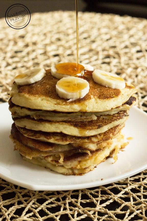 Maślankowe pancakes
