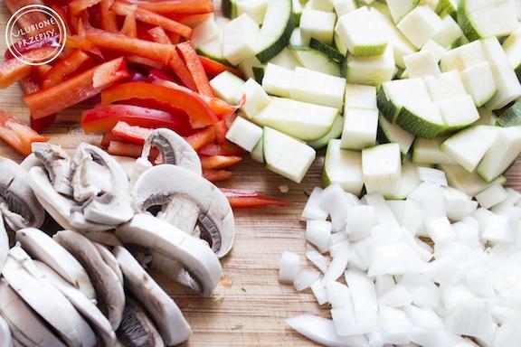 Risotto z warzywami