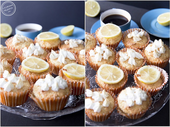 Muffinki cytrynowe