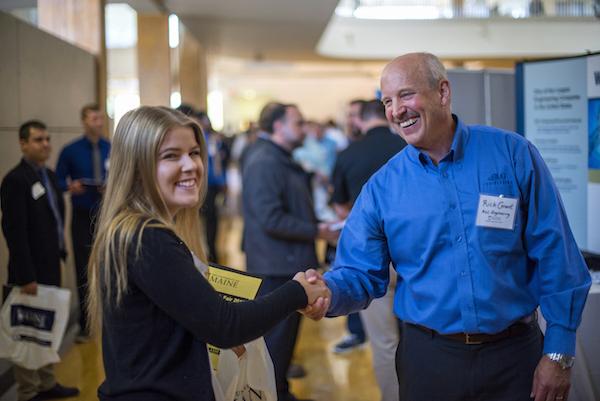 Engineering Job Fair Recap - Career Center - University of Maine