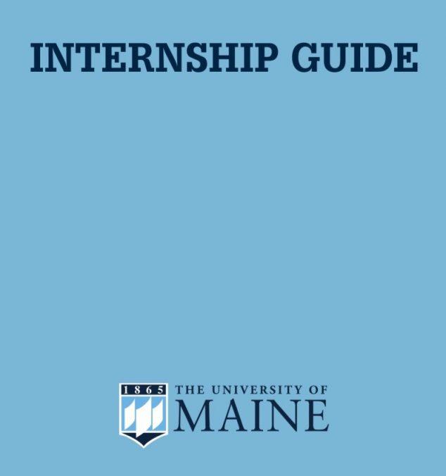 Internship Information - Career Center - University of Maine