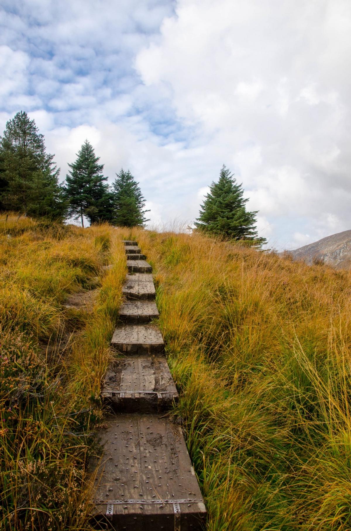 Gorgeous Girl Hd Wallpaper Glendalough Ireland And Wicklow Mountains National Park