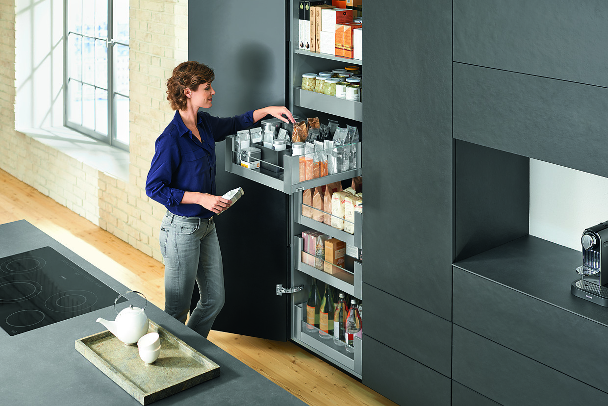 Vorratschrank Blum Space Tower Umaxo