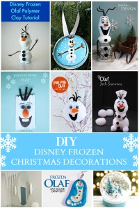 Olaf Christmas Decorations To Make | www.indiepedia.org