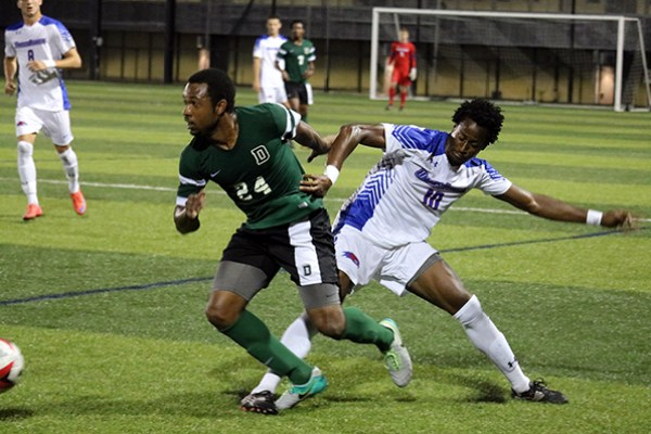 River Hawks men's soccer team duels Dartmouth to a 1-1 draw