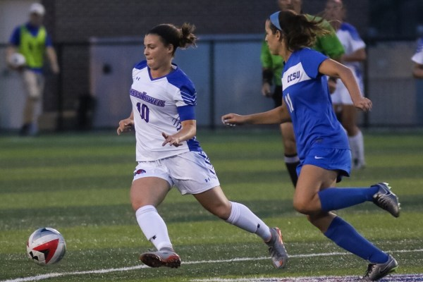 Women's soccer taking confidence from a slim, hard-fought defeat