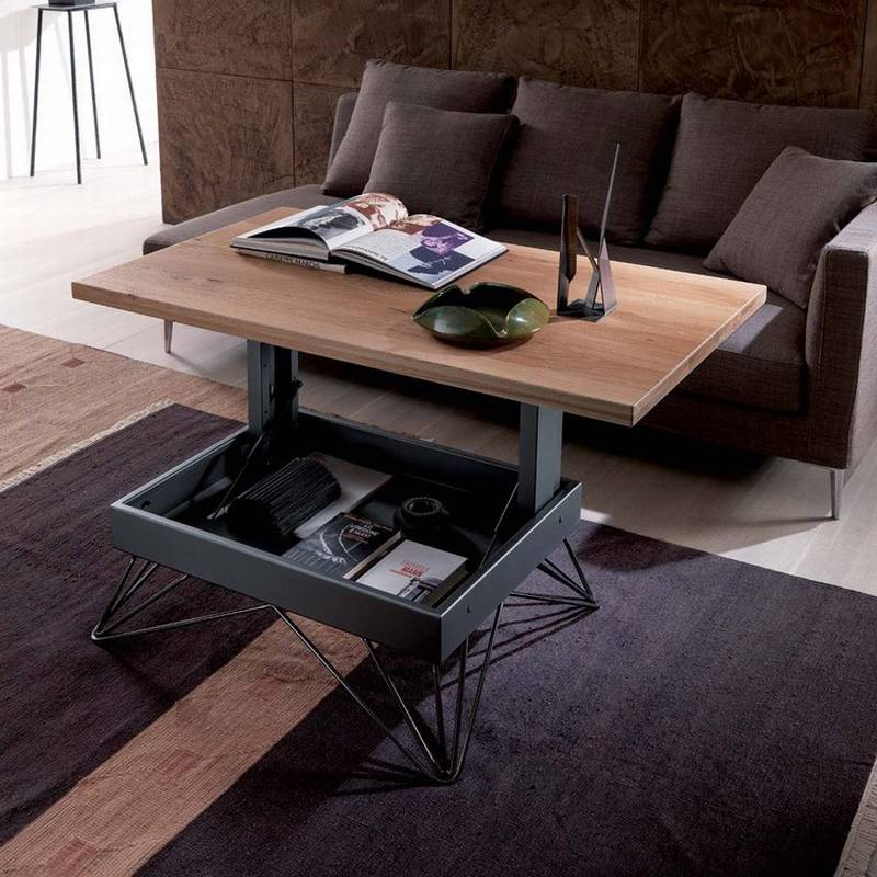 Couchtisch Ultra Ozzio Radius T064 | Coffee Tables | Space Saving/multi ...