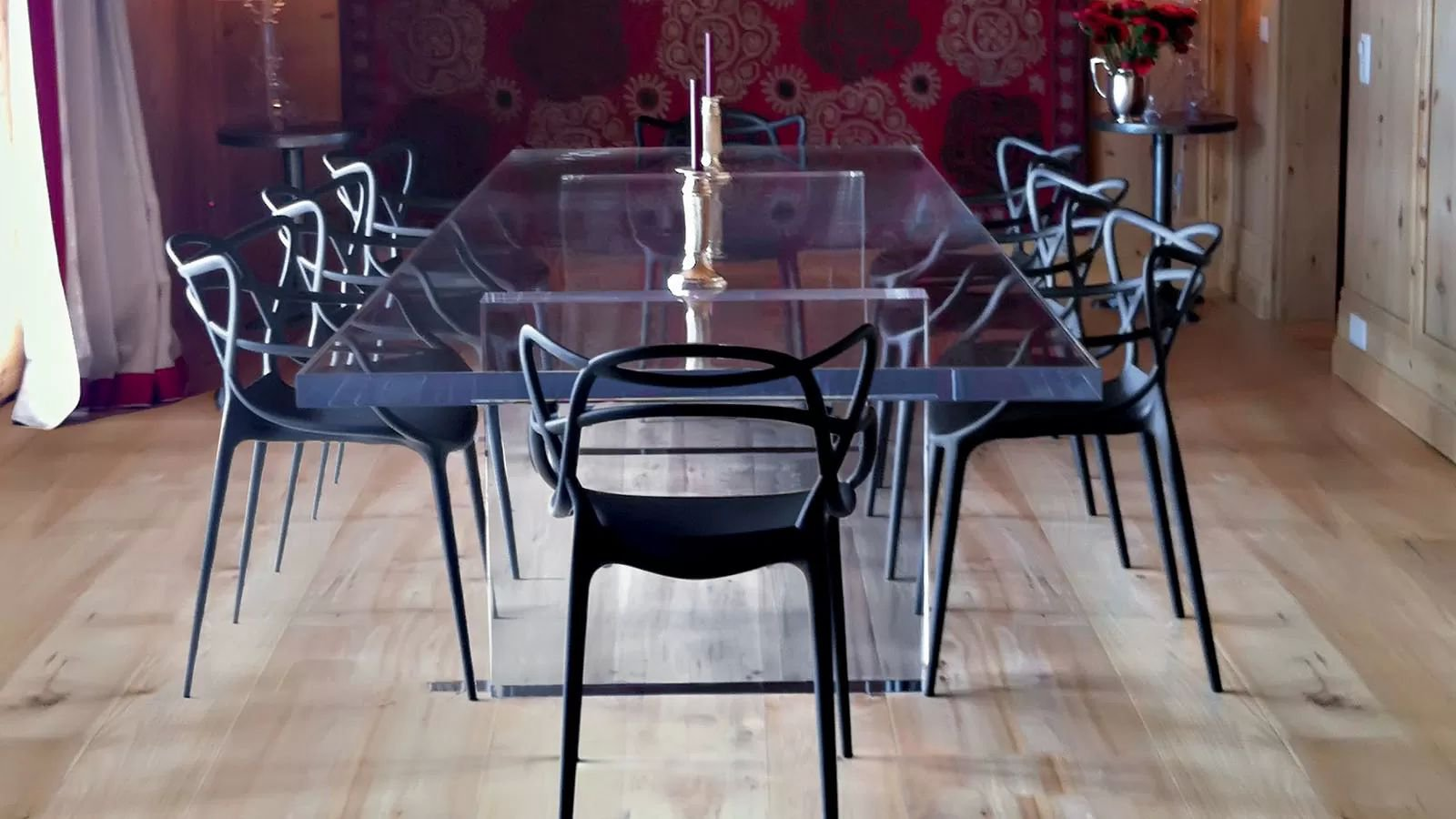 Philippe Starck Kartell Masters | Plastic Chair | Contemporary Dining Room