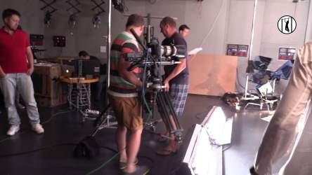 Репортаж со съемок промо для нового сезона проекта Чисто News, Студия Квартал 95. 7 августа 2014г.