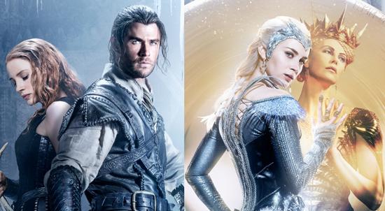 O Caçador e a Rainha do Gelo   Teaser e cartazes