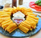Çıtır  Patates  Kızartması  Tarifi ( Mısır  Unlu  Kızartma)