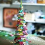 Un árbol de Navidad colorido {Diy Navidad I}